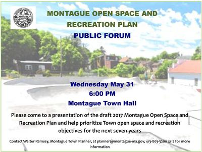 News - Town of Montague, MA